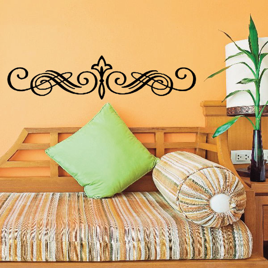 Headboard JC001 Vinyl Decal Great For Cars Or Walls Sticker