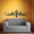 Headboard JC003 Vinyl Decal Great For Cars Or Walls Sticker