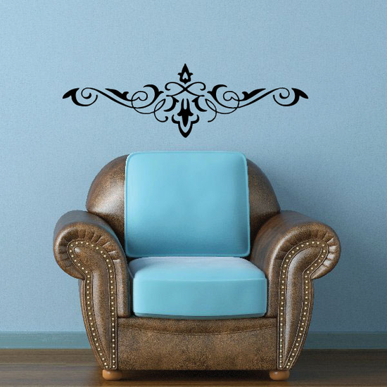 Headboard JC005 Vinyl Decal Great For Cars Or Walls Sticker