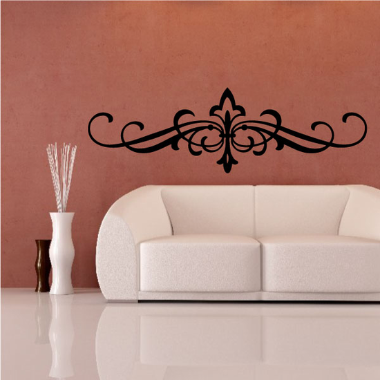 Headboard JC006 Vinyl Decal Great For Cars Or Walls Sticker