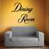 Dining Room Wall Decal - Vinyl Decal - Car Decal - Business Sign - MC718