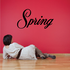Spring Wall Decal - Vinyl Decal - Car Decal - Business Sign - MC729