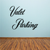 Valet Parking Wall Decal - Vinyl Decal - Car Decal - Business Sign - MC734