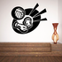 Volleyball Wall Decal - Vinyl Decal - Car Decal - CDS010