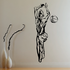 Volleyball Wall Decal - Vinyl Decal - Car Decal - CDS015