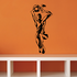 Volleyball Wall Decal - Vinyl Decal - Car Decal - CDS017