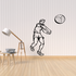 Volleyball Wall Decal - Vinyl Decal - Car Decal - CDS025