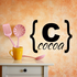 Cocoa Brackets Decal
