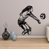 Volleyball Wall Decal - Vinyl Decal - Car Decal - CDS055