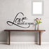 Love Begins at home Decal