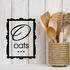 Oats Square Decal