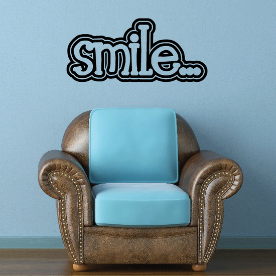 Smile Decal