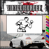 Throwing Punch Boxer Decal
