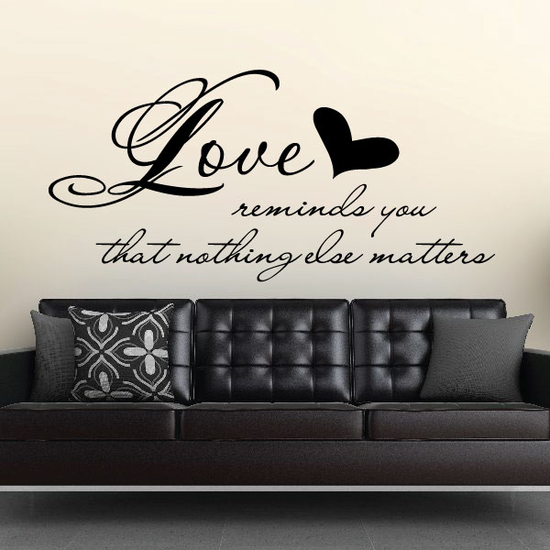 Love reminds you Decal