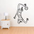 Volleyball Wall Decal - Vinyl Decal - Car Decal - Bl003