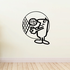 Volleyball Wall Decal - Vinyl Decal - Car Decal - Bl012