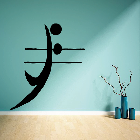 Volleyball Wall Decal - Vinyl Decal - Car Decal - Bl014