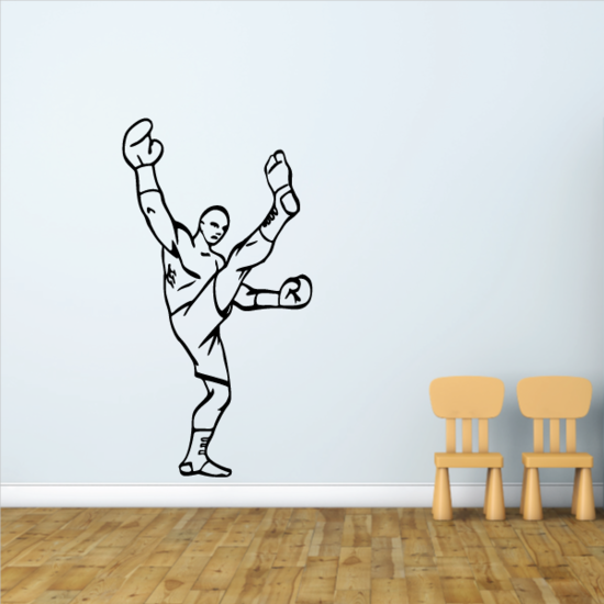 Boxing Wall Decal - Vinyl Decal - Car Decal - CDS0027