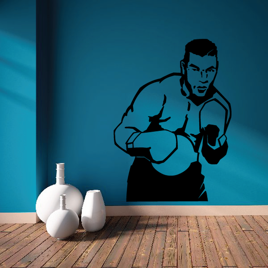 Boxing Wall Decal - Vinyl Decal - Car Decal - Bl003