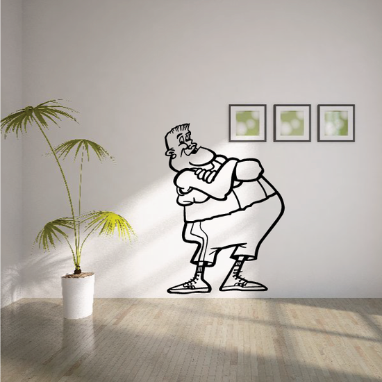 Boxing Wall Decal - Vinyl Decal - Car Decal - Bl006