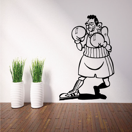 Boxing Wall Decal - Vinyl Decal - Car Decal - Bl008