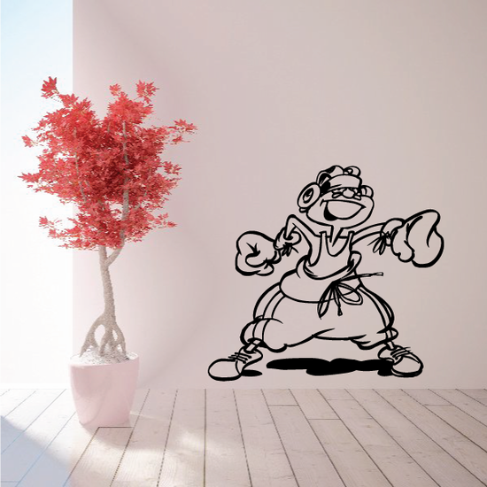 Boxing Wall Decal - Vinyl Decal - Car Decal - Bl014