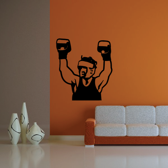 Boxing Wall Decal - Vinyl Decal - Car Decal - Bl022