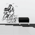 Boxing Wall Decal - Vinyl Decal - Car Decal - Bl031