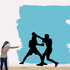 Boxing Wall Decal - Vinyl Decal - Car Decal - Bl032