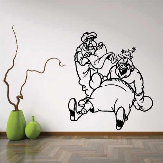 Boxing Wall Decal - Vinyl Decal - Car Decal - Bl037
