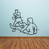 Boxing Wall Decal - Vinyl Decal - Car Decal - Bl051