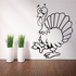 Gobbler the Turkey Decal