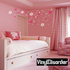 Outlined Twisted Star Wall Decals Kit
