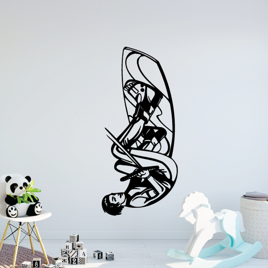 Wakeboarding Tantrum Decal