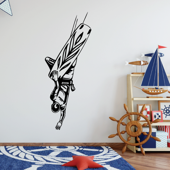 Wakeboarding Whirly 540 Decal