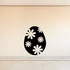 Flowers hippie 70's Easter Egg Decal