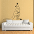 Turning Head Kangaroo Decal