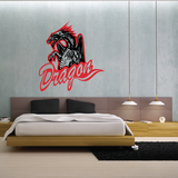 Firebreathing Dragons Decal