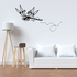 Dragonfly Buzzing Trail Decal