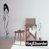 Standing Nude Woman Decal