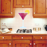 Martini Wall Decal - Vinyl Decal - Car Decal - Idcolor020