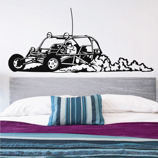 Dune Buggy Offroad Rock Climbing Vinyl Decal Car Window Stickers 03