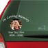 Custom In Loving Memory Decal with a Photo Inlay