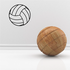 Water Polo Ball Decal