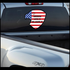 Love It Or Leave It America Flag Eagle Sticker