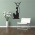 Egyptian Statue Wall Decal - Vinyl Decal - Car Decal - AL33