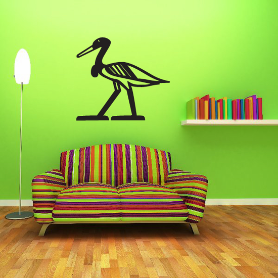 Egyptian Duck Decal