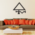 Egyptian Triangle Symbol Decal