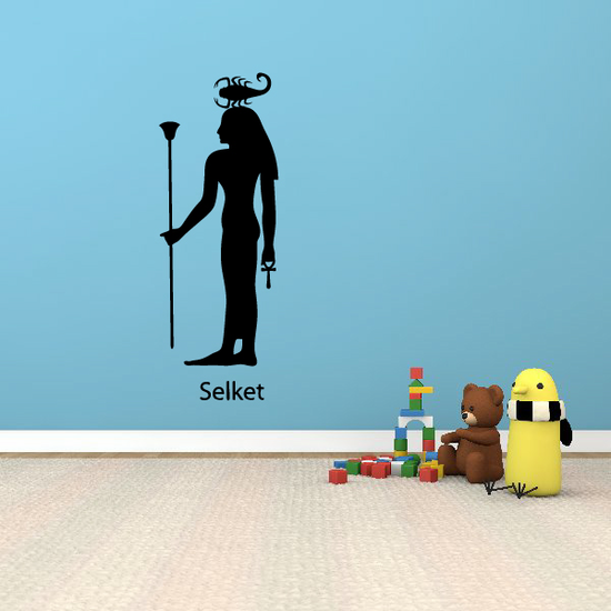 Egyptian God Serket Decal