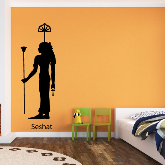 Egyptian God Seshat Decal